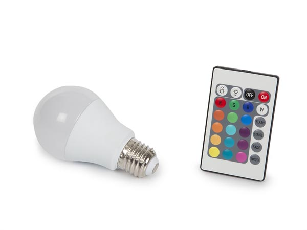 Led Lamp - 7.5 W - E27 - RGB & Warm White