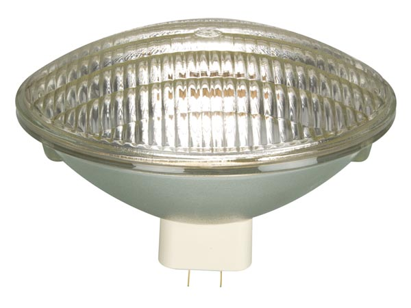 Halogeenpirn:  GENERAL ELECTRIC 500W / 240V, PAR64, GX16D, MFL, CP88