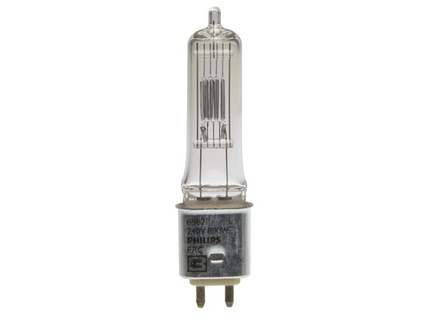 Halogen Lamp PhilIPS 800w / 240v, Gy9.5, 3200k, 250h (6982p)