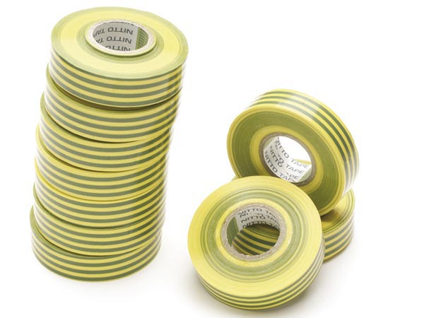 Insulation Tape Green/yellow 19mm X 20m