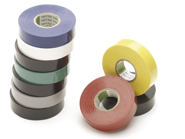 ASSORTED INSULATION TAPES 19mm x 20m (10pcs)