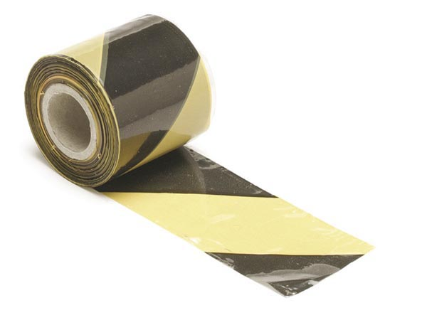 Safety Tape Black/yellow - 100m
