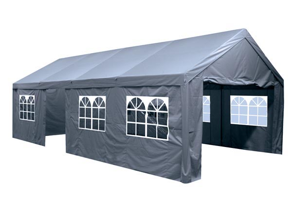 PARTYTENT - 4 x 8m - CHARCOAL GREY
