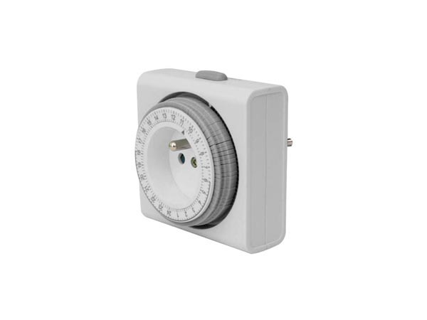 Compact 24 Hour Timer - French Plug