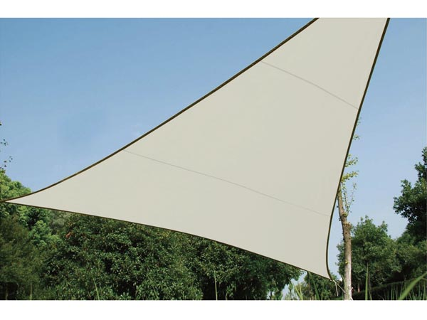 Voile Solaire Triangulaire - 3.6 X 3.6 X 3.6m