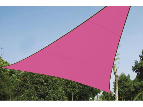 Shade Sail - Triangle 3.6 X 3.6 X 3.6m Colour Fuchsia