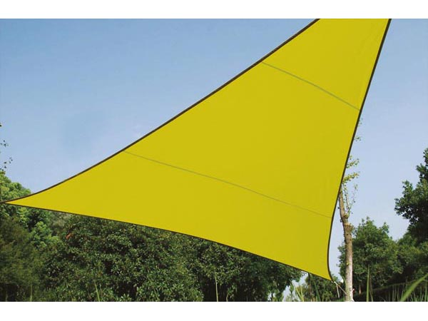 Shade Sail - Triangle 3.6 X 3.6 X 3.6m Lime Green
