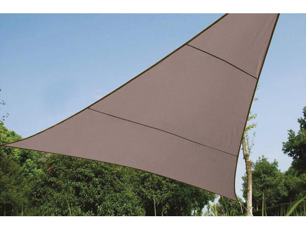 Shade Sail - Triangle 3.6 X 3.6 X 3.6m Colour Taupe