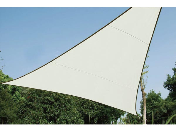 Voile Solaire Triangulaire - 5 X 5 X 5m