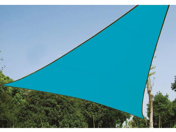 Shade Sail - Triangle 5 X 5 X 5m Sky Blue