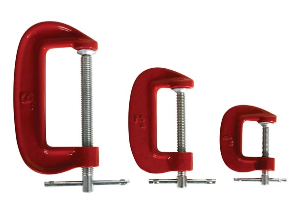 C-CLAMP SET - 3 pcs