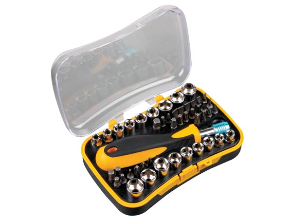 SOCKET & BIT DRIVER SET - 48pcs