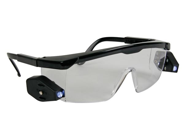 SAFETY GLASSES WITH LEDs