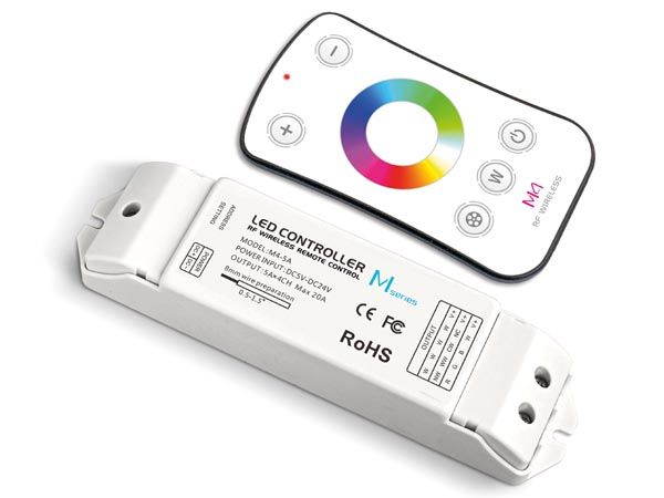 Rgbw LED Controller - With Rf Remote Controller