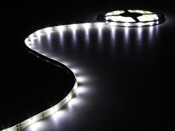 Flexible LED Strip - Cold White - 150 LEDs - 5 M - 12 V