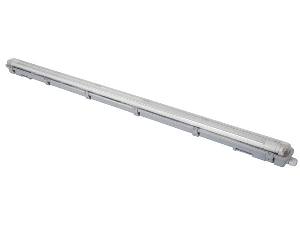 WATERPROOF FIXTURE WITH T8 LED TUBE - 126.5 cm - NEUTRAL WHITE