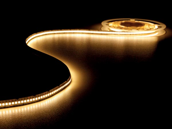 FLEXIBLE LED STRIP - WARM WHITE 2700K - 1200 LEDs - 5m - 24V