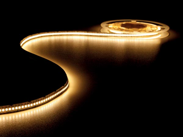 FLEXIBLE LED STRIP - WARM WHITE 3500K - 1200 LEDs - 5m - 24V