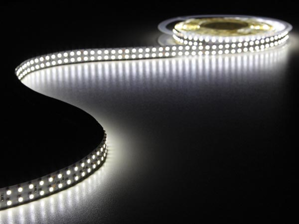 FLEXIBLE LED STRIP - COLD WHITE 6500K - 1200 LEDs - 5m - 24V
