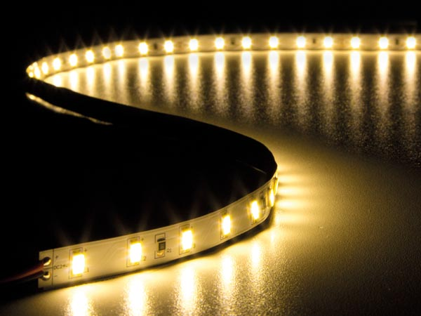 FLEXIBLE LED STRIP - WARM WHITE 3500 K - 300 LEDs - 5 m - 24 V