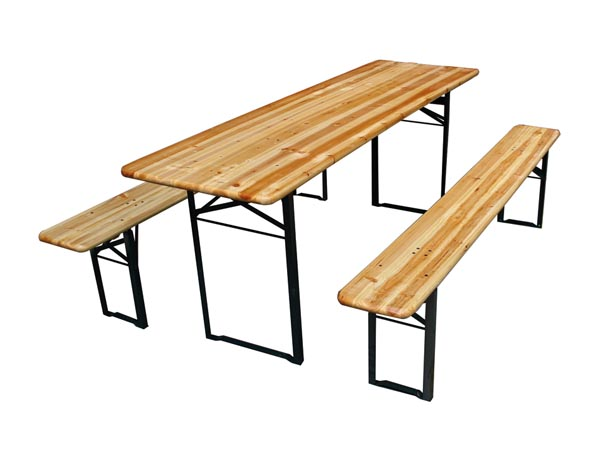Printable version fp150n table with 2 benches 200 x - Table largeur 60 cm ...