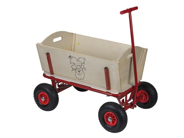 Wooden Cart - Plop The Gnome
