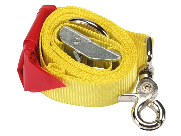 TIE DOWN STRAP FOR CAR BOOT