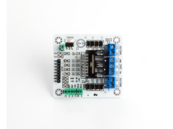 Velleman IO for Arduino VMA409: L298N DUAL BRIDGE DC