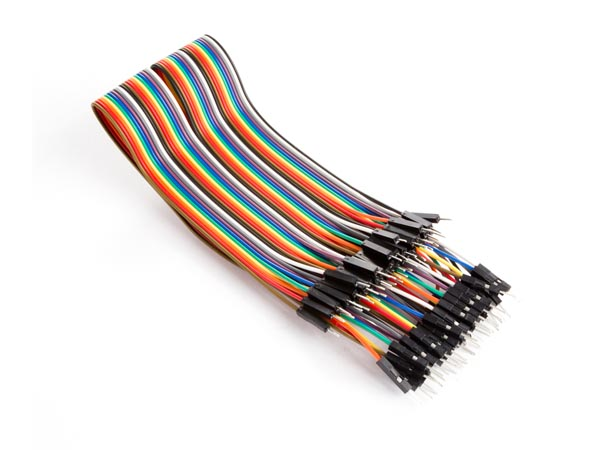 40 Pins 30cm Male To Male Jumper Wire (flat Cable)