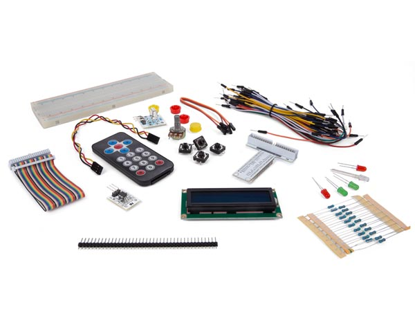 Electronic Parts Pack For Raspberry Pi