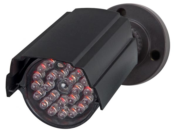 DUMMY BULLET CAMERA WITH IR LEDS