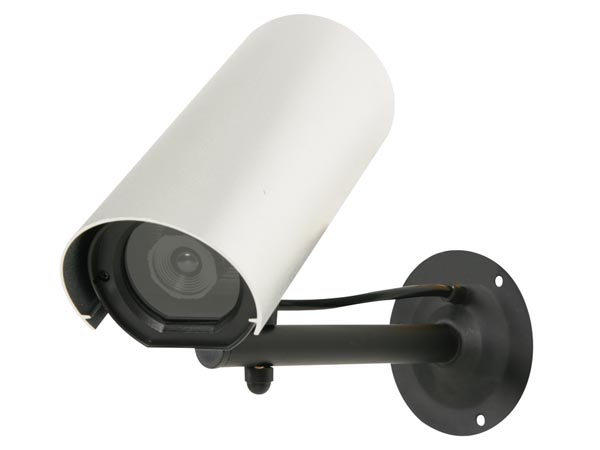 WEATHERPROOF DUMMY CAMERA WITH LED