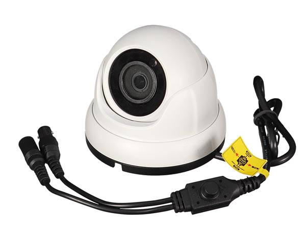 MULTI PROTOCOL CAMERA - HD-TVI / CVI / AHD / ANALOGUE - OUTDOOR - DOME - 1080P - WHITE