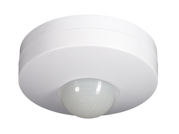 Pir Motion Detector For Ceiling Mounting - White