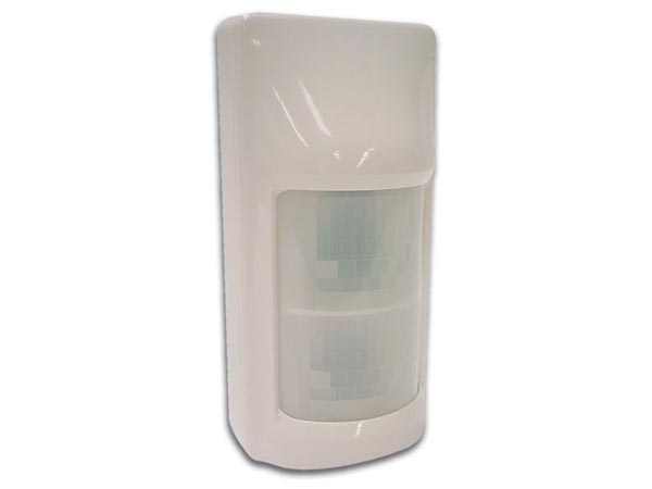 PIR SENSOR WITH DOUBLE TWIN OPTICS