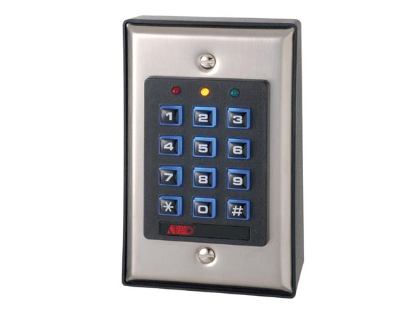SELF-CONTAINED DIGITAL ACCESS CONTROL KEYPAD WITH BACKLIGHT