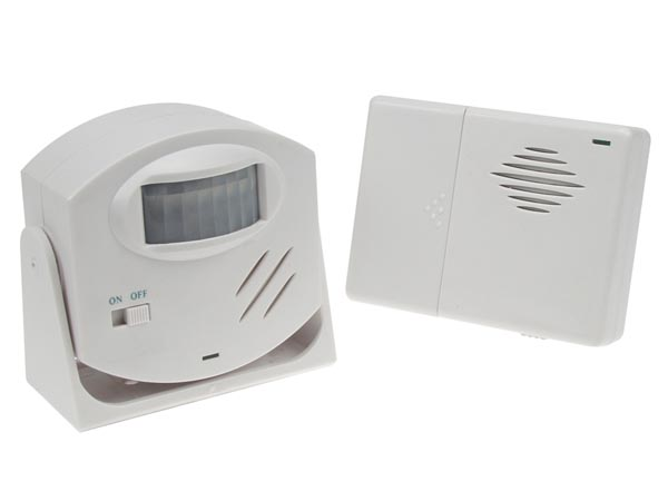 ALARM DOORBELL WITH PIR MOTION DETECTOR