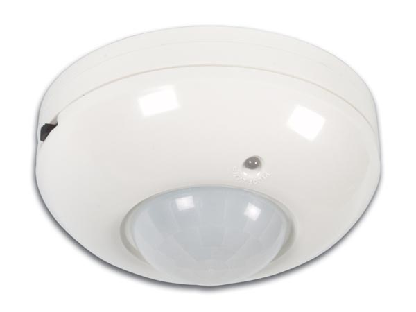 PIR MOTION DETECTOR FOR CEILING MOUNTING