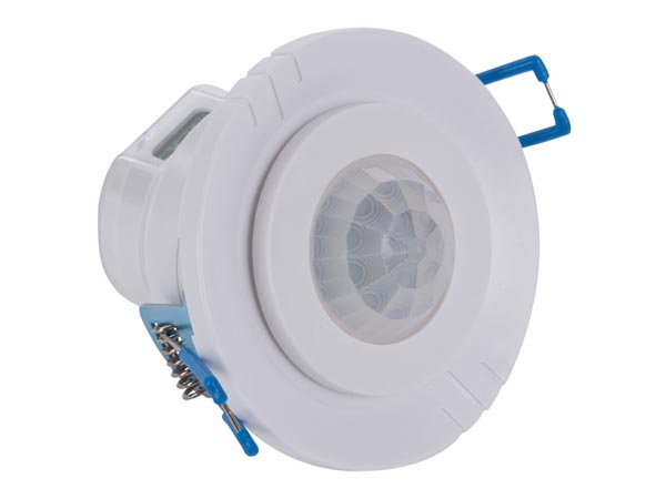 PIR INFRARED MOTION DETECTOR Ø45mm - BUILD IN