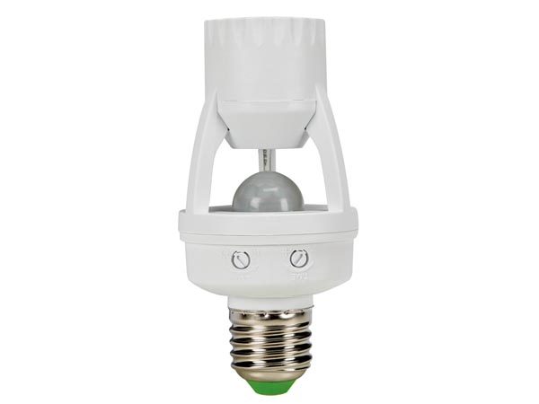 PIR MOTION DETECTOR - E27 socket