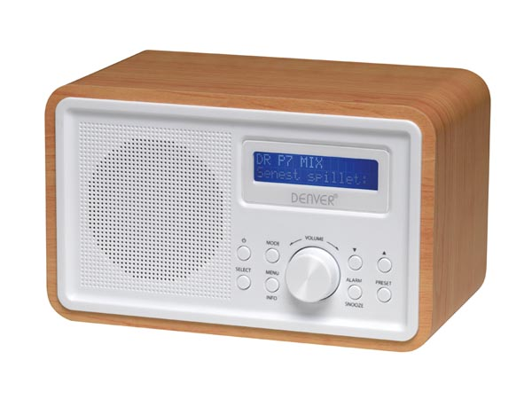 DAB-35 - DAB+/FM RADIO WITH WOODEN CABINET