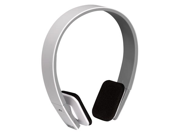 BTH-204WHITE - BLUETOOTH HEADSET - WHITE