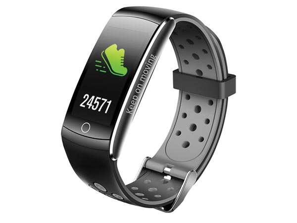 Bfh-14 - Bluetooth Fitness Band With Heart Rate Monitor & Colour Display