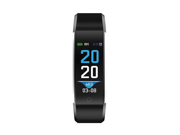 BFH-16BLACK - BLUETOOTH® FITNESS BAND WITH HEART RATE MONITOR & COLOUR DISPLAY