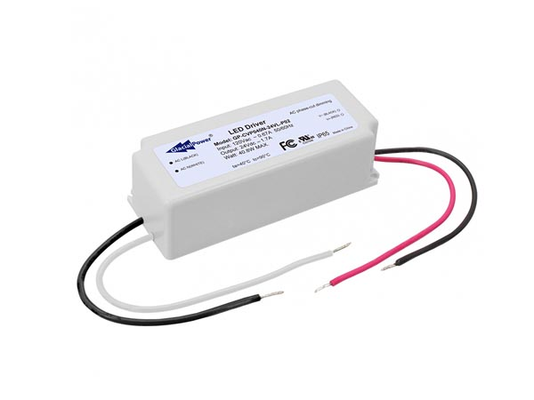 CONSTANT VOLTAGE LED POWER SUPPLY - 40 W 12 V 3.4 A with TRIAC DIMMING
