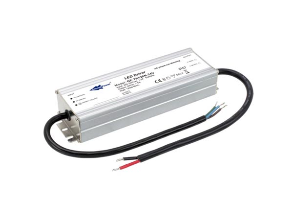 CONSTANT VOLTAGE LED POWER SUPPLY - 120 W 24 A 5 A with TRIAC DIMMING