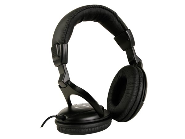 De Luxe Digital Stereo Headphones
