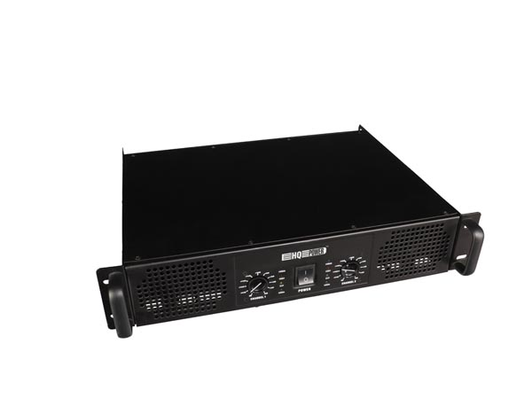 SAGIRA 200 - POWER AMPLIFIER 2 x 200 W RMS (2U - 19