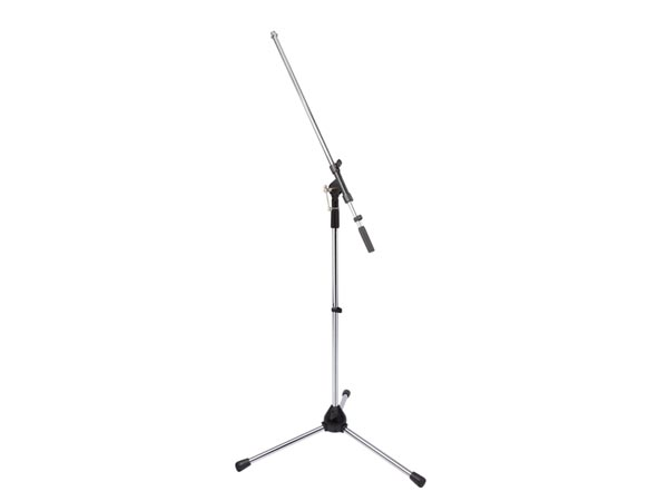 TELESCOPE MICROPHONE STAND - CHROME