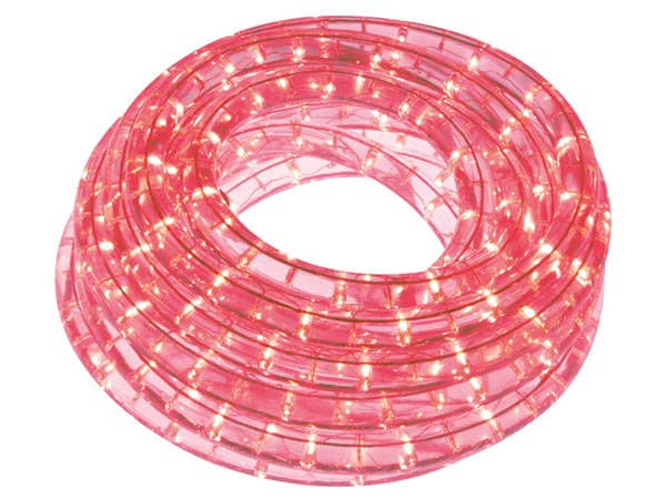 LED ROPE LIGHT - 9 m - RED